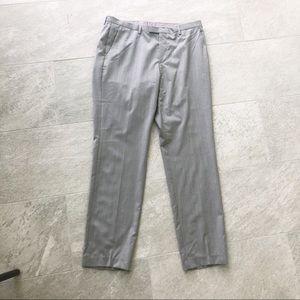 Men's Hugo Boss Gray Dress Pants Slacks 36R